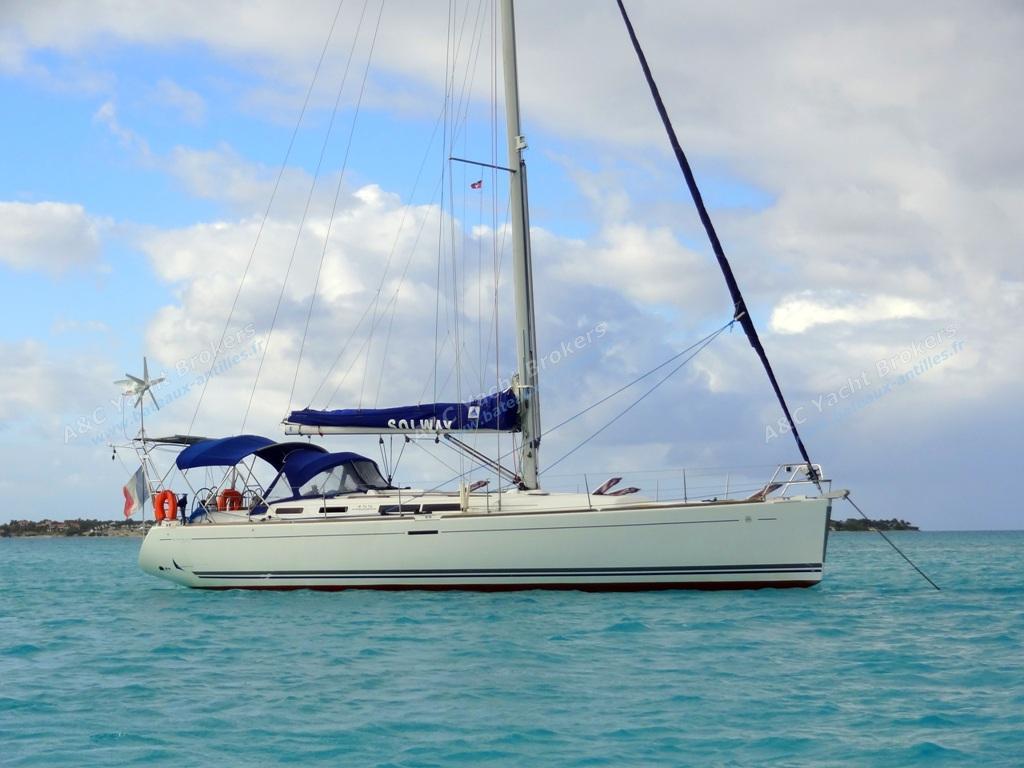 Dufour Yachts Dufour 455 Grand'Large : Au mouillage